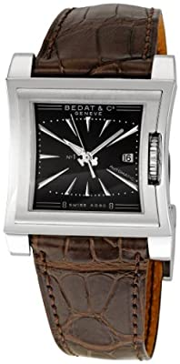 Bedat Men's BDT114.010.310 Number One Black Dial Watch