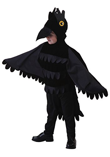 Fun Costumes unisex-baby Toddler Crow Costume 4T (Toddler Crow Costume)
