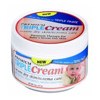 Triple Cream Severe Dry Skin/Eczema Care Healing Formula Paste Technology Baby Infant Soothes