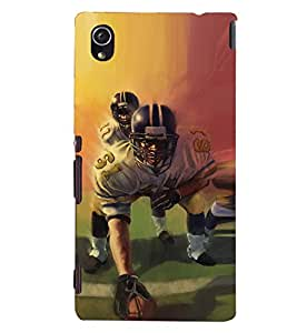 D KAUR Player Back Case Cover for Sony Xperia M4::Sony Xperia M4 Aqua