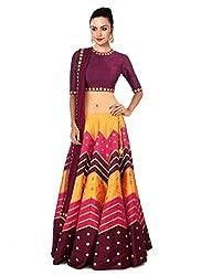 Sanjana Designer Multi Color leriya Style Navratri Collection Lehnega Choli
