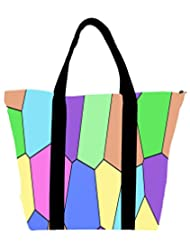 Snoogg Digi Stones 2386 Womens Large Shoulder Tote Bag