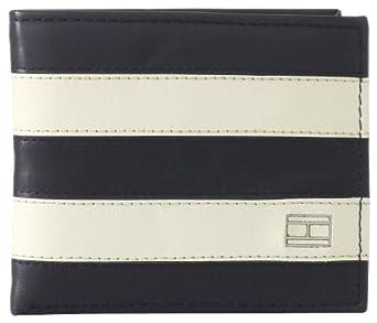 Tommy Hilfiger Men's Worchester Passcase, Navy/Bone, One Size