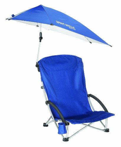 Sport-Brella Beach Chair, Blue front-232405