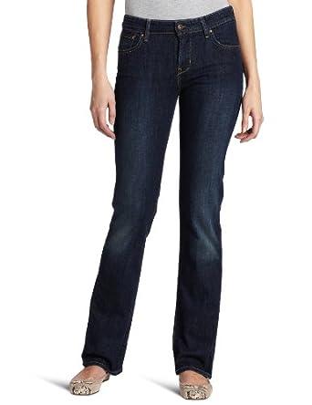 Levi's Women's Demi Curve ID Straight Leg Jean, Worn Rigid, 2 M