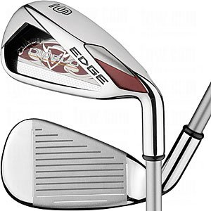 Left Hand Callaway Ladies Diablo Edge Irons Approach Wedge