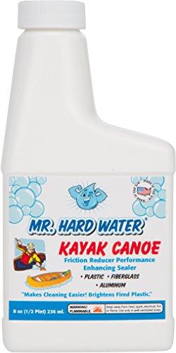Mr. Hard Water Kayak Canoe Friction Reducer Performance Enhancing Sealer, 8 oz (Kayak Wax compare prices)