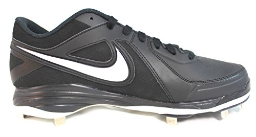 pictures of Nike Air MVP Pro Metal Wide (Size 12) Black/White 536171 010