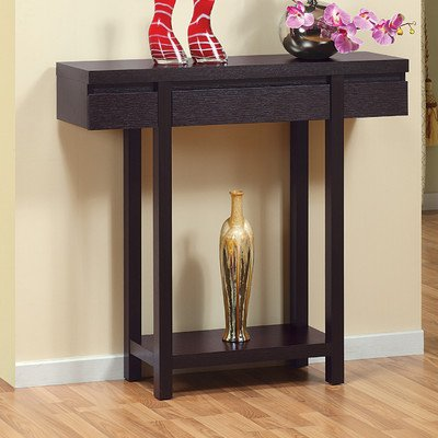 Logan Console / Sofa Table In Red Cocoa front-62726