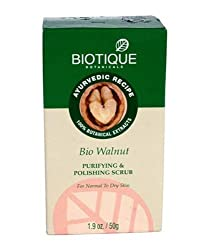 Biotique Bio Walnut Purifying & Polishing Scrub, 50g