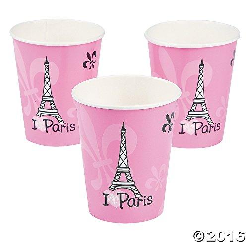 Perfectly Paris Cups (8 Pieces) 9oz.
