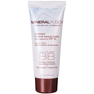 Mineral Fusion Natural Untinted Beauty Balm SPF 30, 2 Ounce from Mineral Fusion Natural
