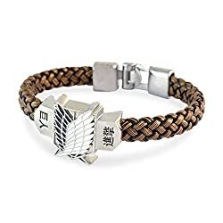 Sarah Brown leather Cuff & Kadaa Men