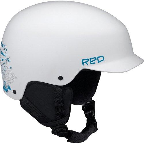 Red Defy Helmet white matte S -Kids