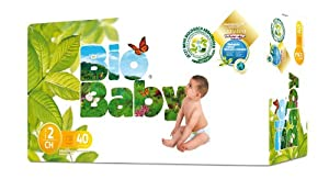 Bio Baby Biodegradable Nappies Size 2 - Pack of 40