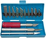Se 813pk 16piezas Juego de cuchillos con aluminio Collet Chucks