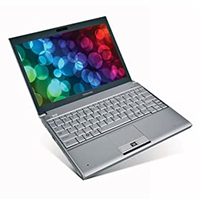Toshiba Portégé A605-P200 12.1-Inch Laptop (1.40 GHz Intel Core 2 Duo SU9400 Processor, 3 GB RAM, 250 GB Hard Drive, DVD Drive, Vista Premium)