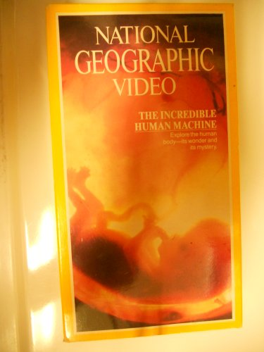The Incredible Human Machine (National Geographic) [VHS] (Incredible Human Machine compare prices)
