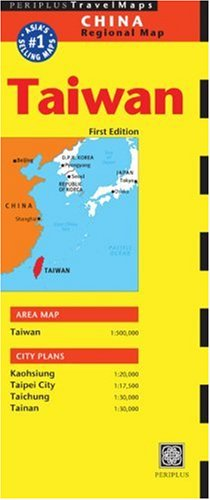Periplus Taiwan 2002/2003: China Regional (Periplus Travel Maps) (China Regional Maps)