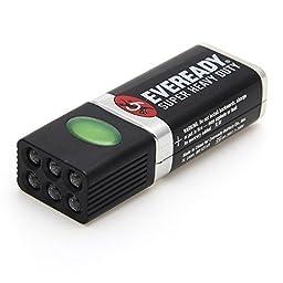 Blocklite Aluminum Alloy 6-LED Mini Flashlight Torch