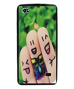 Techno Gadgets back Cover for Intex Aqua Star 2 HD