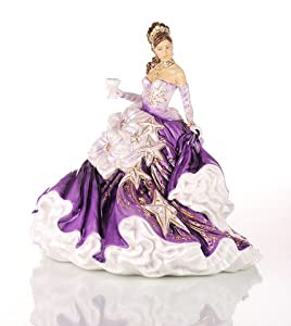 The English Ladies Co. Figurine Congratulations - Amethyst