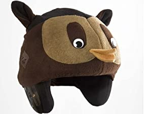 Tail Wags Equestrian Helmet Covers (Owl, Child) by Tail Wags Helmet Covers