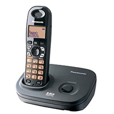 Panasonic Single Line 5.8GHz KX-TG4311BX2 Digital Cordless Telephone