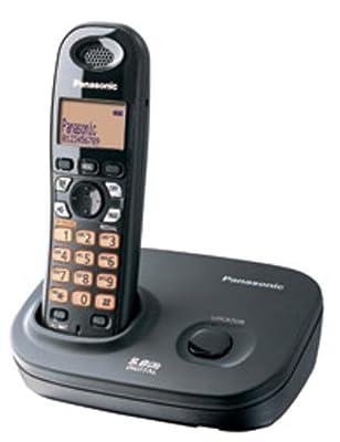 Panasonic Single Line 5.8GHz KX-TG4311BX2 Digital Cordless Telephone