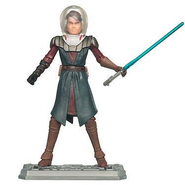 Star Wars Clone Wars 2010 figure Anakin Skywalker #07 in Space Suit.