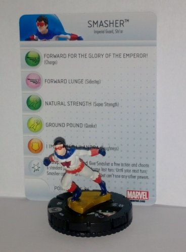 Marvel Heroclix Wolverine and the X-Men #036 Smasher with Card - 1
