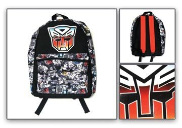 Transformers Backpack Autobot Logo ~17""