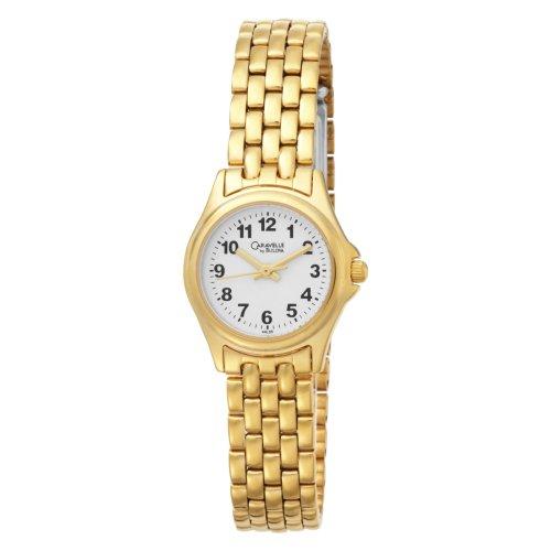 Caravelle by Bulova Women's 44L55 Bracelet White Dial Watch