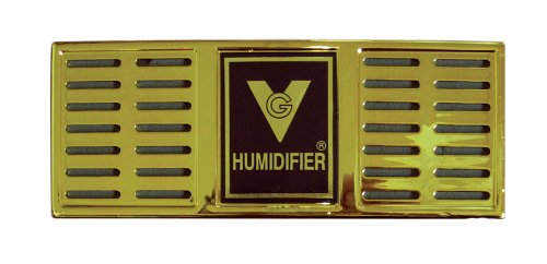 "Prestige Import Group Humidifier 6-1/2"" x 2-1/2"" Rectangle (Gold) - 1"