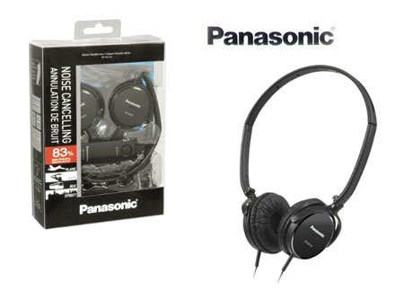 Panasonic RPHC101EK Noise Cancelling Headphones