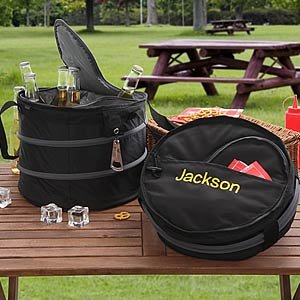 Personalized Collapsible Beverage Cooler - Drink Cooler front-1023938