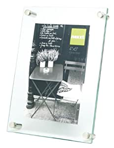 nexxt Air Floating Glass Picture Frame, 6 by 8-Inch