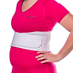 BraceAbility Rib Injury Wrap for Sore or Bruised Ribs-Female