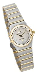 Omega Women's 1267.75.00 Constellation Mini Diamond Accented Watch by Omega