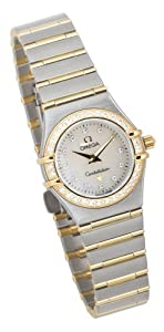 Omega Women's 1267.75.00 Constellation Mini Diamond Accented Watch from Omega