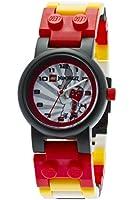LEGO Ninjago Snappa - 9004919 - Montre Enfant - Quartz Analogique - Bracelet Plastique Multicolore