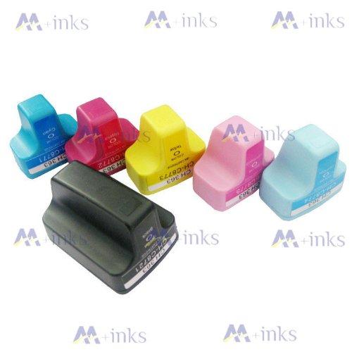 6x kompatible Tintenpatronen für HP 363 Serie 363BK 363Y 363M 363LM 363C 363LC für HP Photosmart C5190 C5194 C5150 C5160 C5170 C5173 C5175 C5183 C5185 C5188 C5190 C5194 C6150 C6160 D6160 D7145 D7155 D7160 D7163 D7168 D7180 D7183 D7260 D7280 D7300 D7345 D7355 D7360 D7363 D7368 D7460 D7463 D7468 Photosmart 3100 3110 3200 3210 3310 C5180 C6160 C6180 C7180 8200 8238 8250 Druckerpatronen ~ Mit Chip