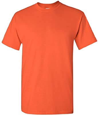 Gildan Mens Heavy Cotton Short Sleeve T-Shirt (XL) (Natural)