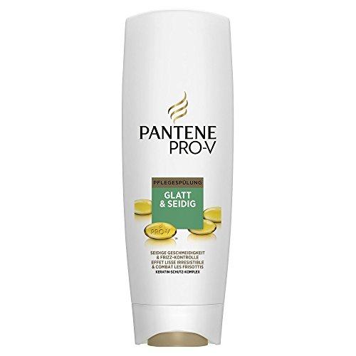 Pantene, Balsamo Pro-V Lisci effetto seta, 3 pz. da 400 ml