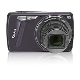 Kodak EasyShare M580 14MP Digital Camera with 8x Wide Angle Optical Zoom and 3.0 Inch LCD (Purple)
