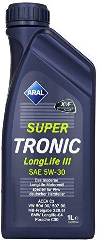 aral-super-tronic-longlife-iii-3-5w-30-1-l-de-12-bouteilles-de-moteur-aral-olwechselzettel-multi-dis