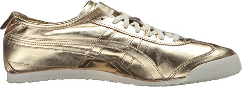 huge selection of b3b1e a4f0c Onitsuka Tiger by Asics Unisex Mexico 66 Gold/Gold Sneaker Men's 6, Women's  7.5 Medium
