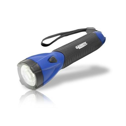 Garrity Garrity G-Tech Led Flashlight With Suregrip Heavy Duty Rubber Grip (Blue) (Catalog Category: General Merchandise / Flashlights)