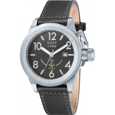 CCCP CP-7017-01 Mens Delta Black Automatic Watch