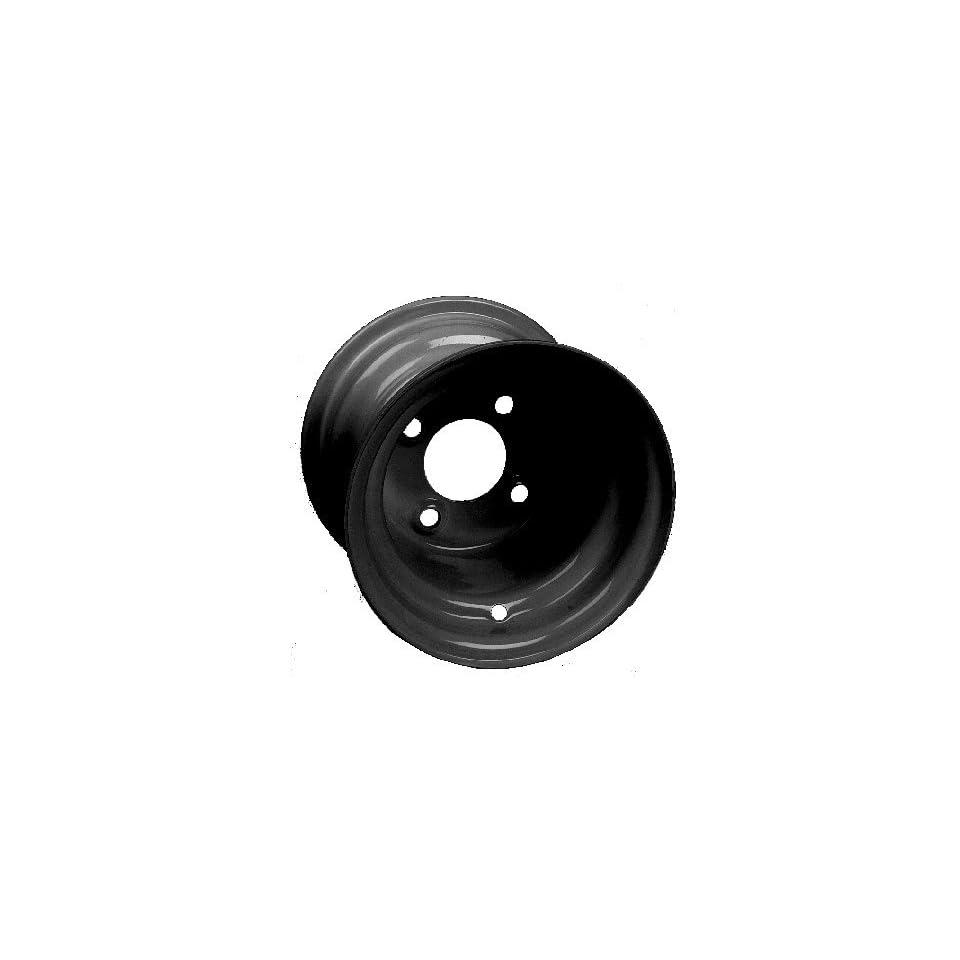 Offset 8 steel wheel, black. 8x7, 34 offset.